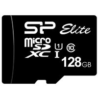 Карта MicroSD 128 ГБ Silicon Power Elite UHS-I 75 Mb*s