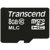 Карта MicroSD 8 ГБ Transcend Ultimate UHS-I, MLC
