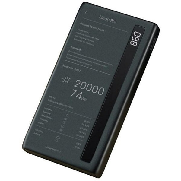 Power Bank Remax Linon Pro RPP-73 20000 mAh