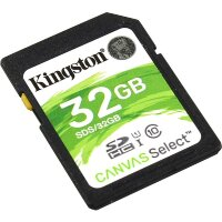 Карта памяти SDHC 32 ГБ Kingston Canvas Select 533x (80 Mb*s)