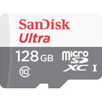 Карта MicroSD 128 ГБ SanDisk Ultra Android Class 10