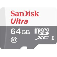 Карта MicroSD 64 ГБ SanDisk Ultra Android UHS-I, 80 Mb*s