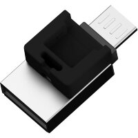 Флешка microUSB|USB 2.0 Silicon Power Mobile X20 (32 ГБ)