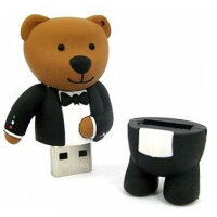 Флешка USB 2.0 ANYline Dandy Bear (8 ГБ)