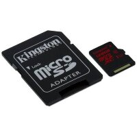 Карта MicroSD 128 ГБ Kingston UHS-I,U3, 90 Mb*s