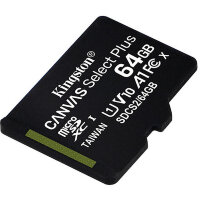 Карта MicroSD 64 ГБ Kingston Canvas Select Plus 100 Mb*s