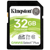 Карта памяти SDHC 32 ГБ Kingston Canvas Select Plus 666x (100 Mb*s)