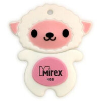 Флешка 4 Гб USB 2.0 Mirex Sheep Pink