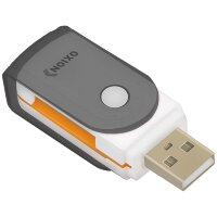 Картридер USB 2.0 Oxion OCR013 Multy